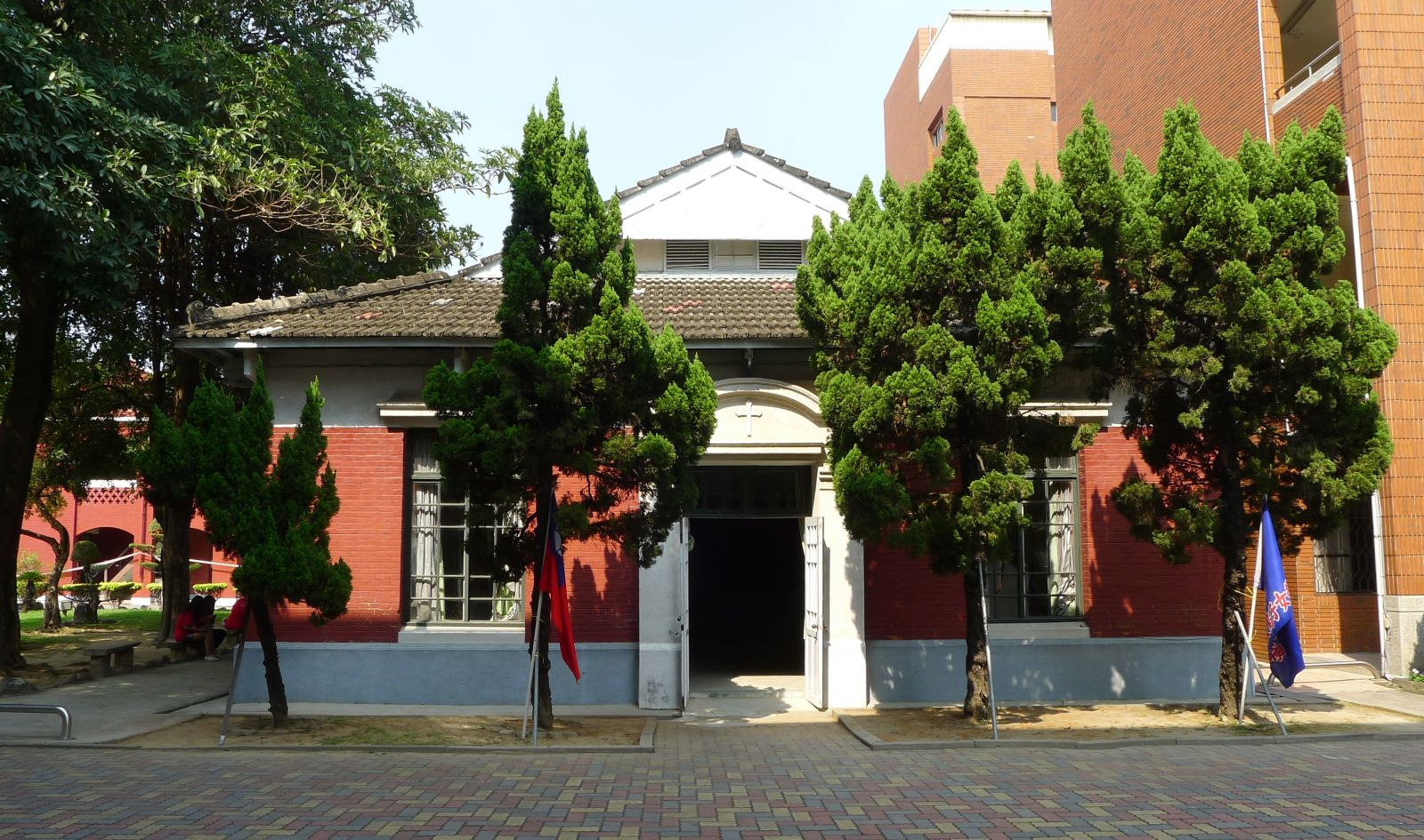 The red mansion historical building restoration of chang jung Christian girl's high school