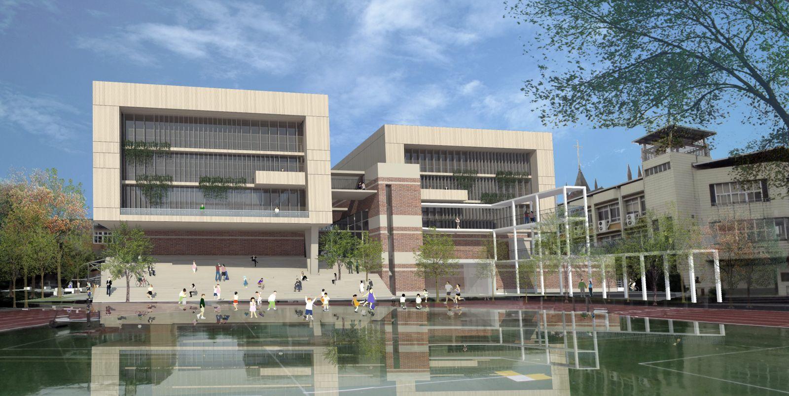 Daxi primary school sports center,taoyuan