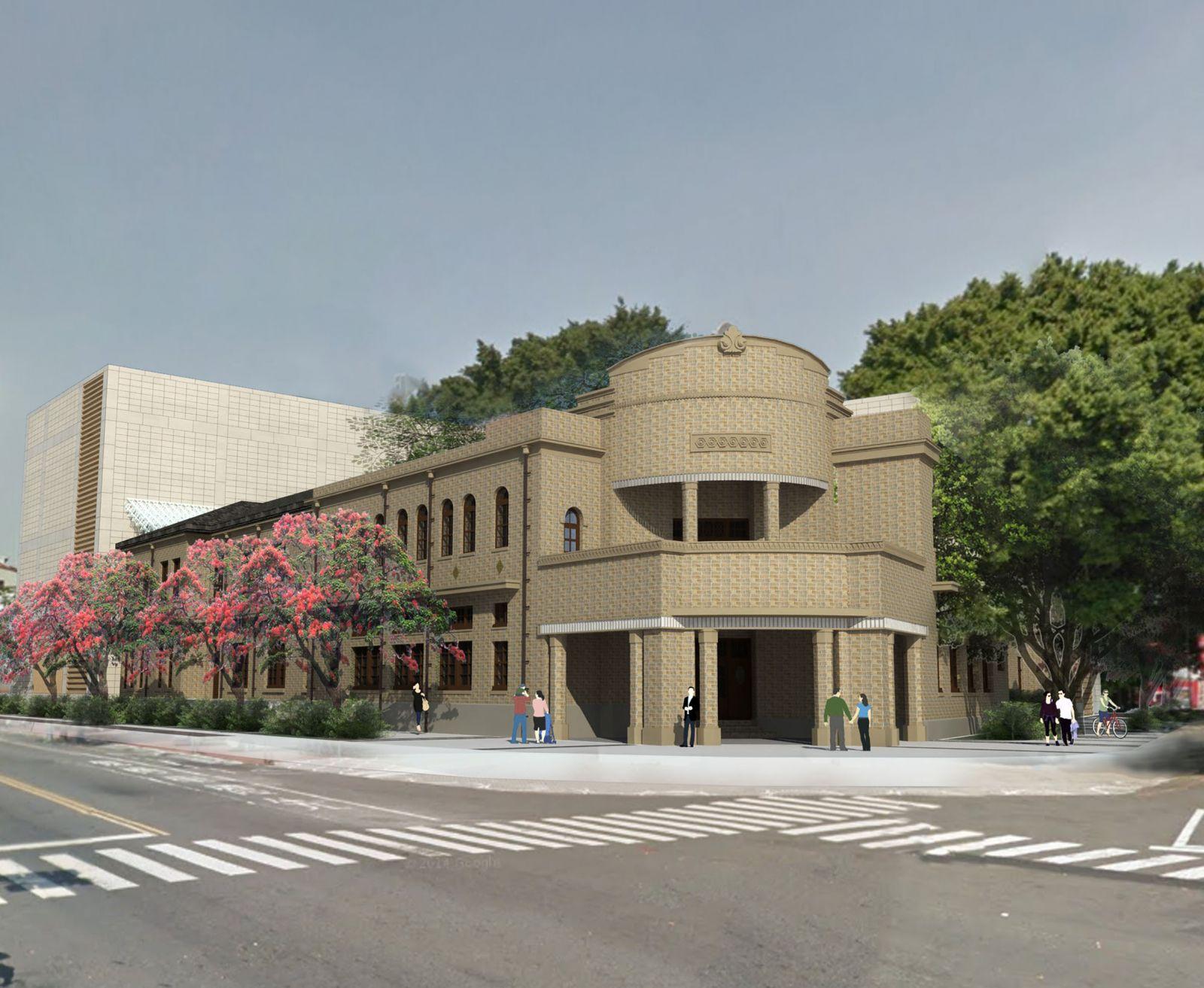 Restoration of tainan police station