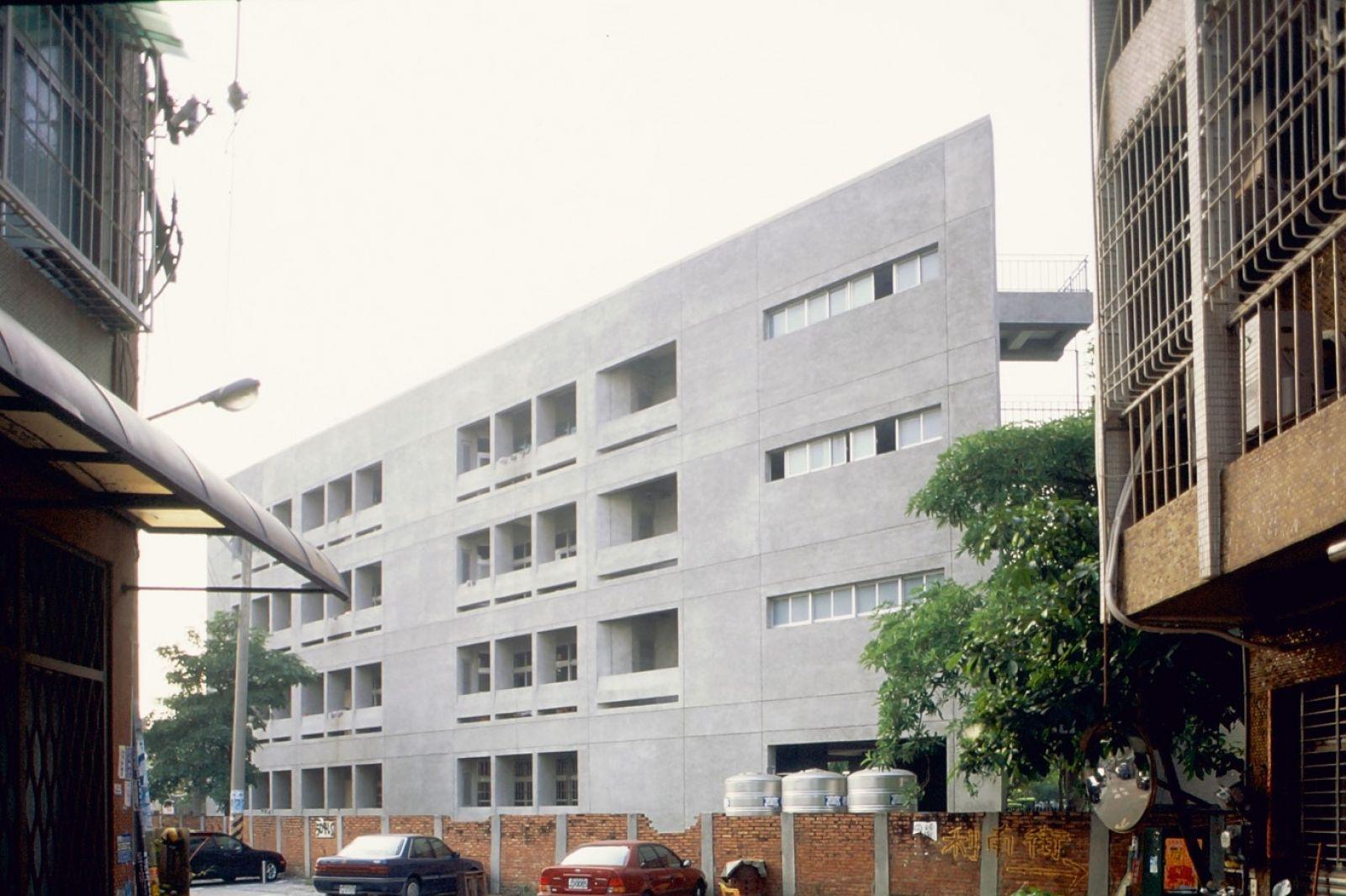 Rihsin primary school 921 earthquake building,tainan