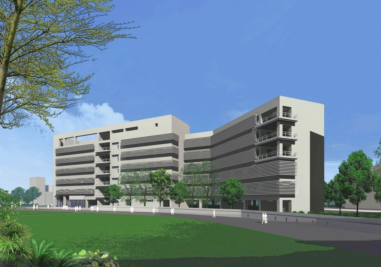 Life science building of national ocean university