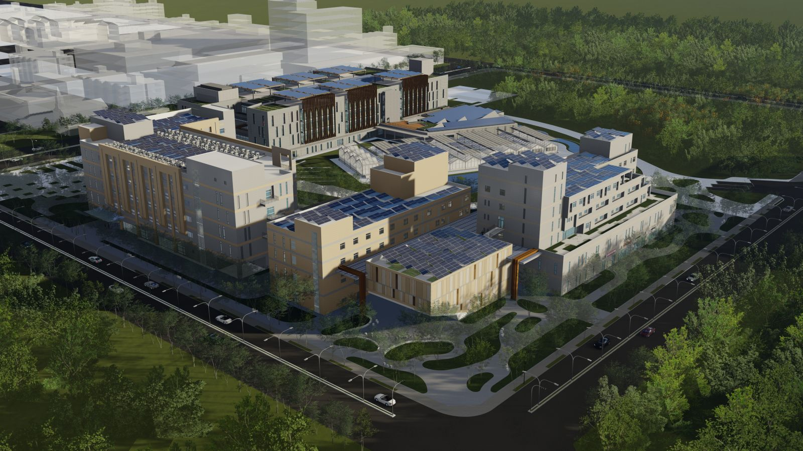 中央研究院南部院區研究大樓樓II、III棟新建工程